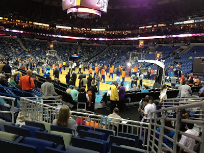 hornets knicks november 2012 basketball game