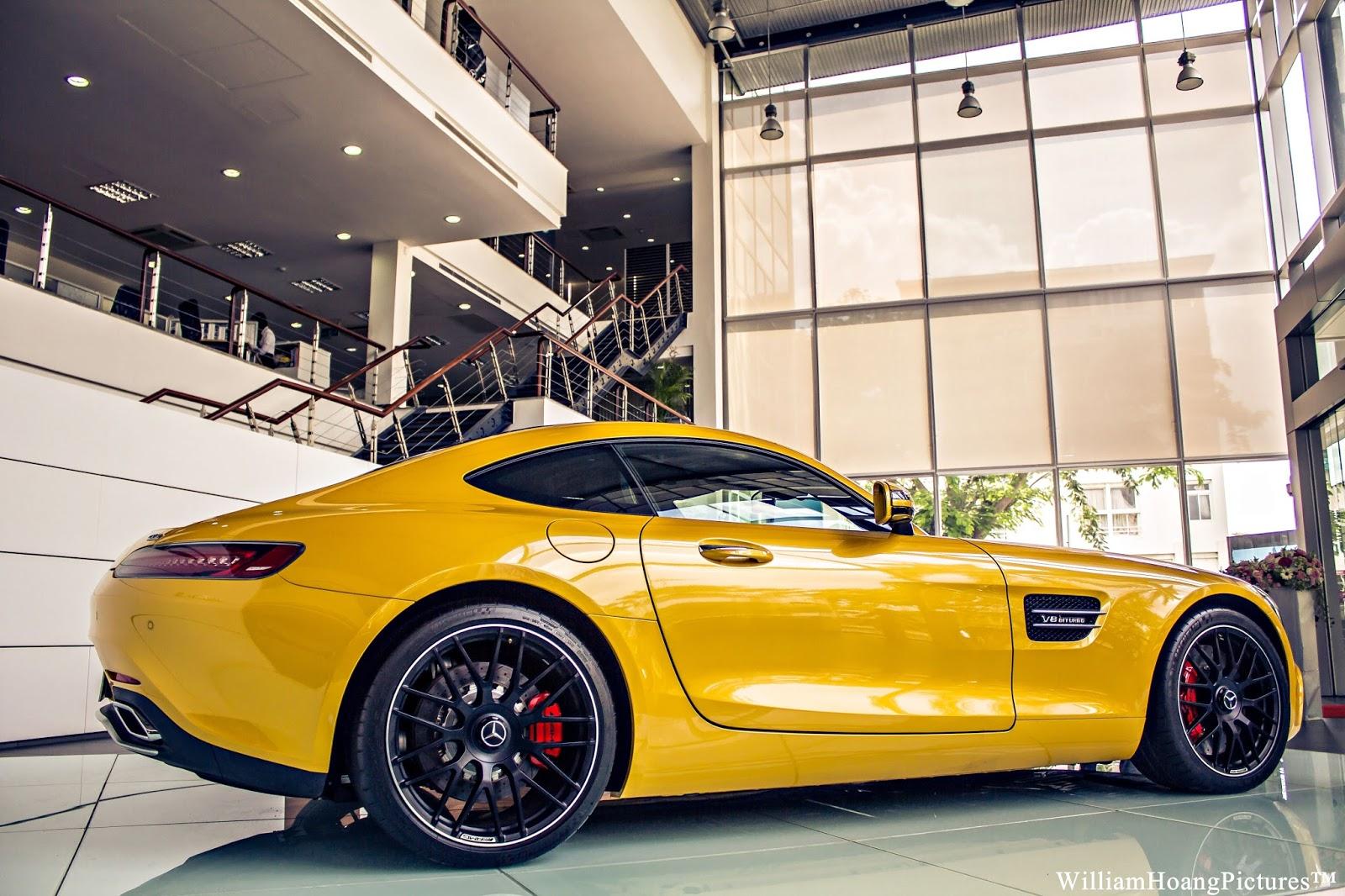 Nói về vẻ đẹp của Mercedes AMG GT S, thì có lẽ nói cả ngày cũng không hết