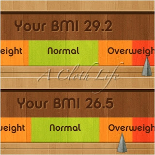 BMI start number and 4th month