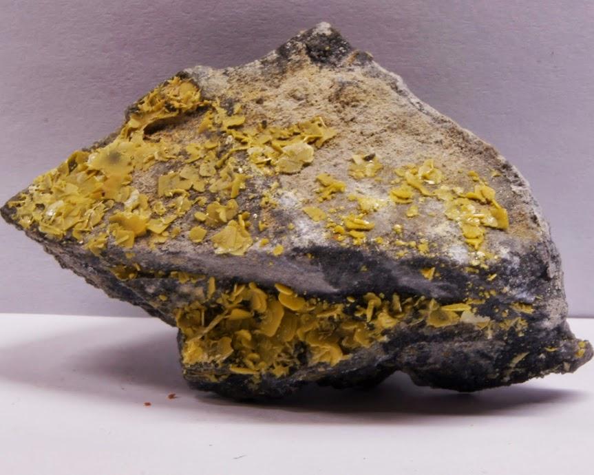 Colección de Geodas y demás piezas. Wulfenita%252C