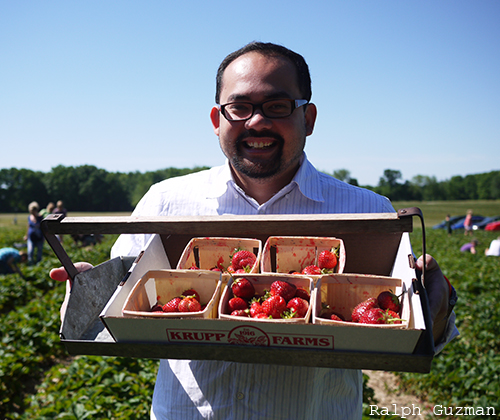 Krupp Farms - Strawberry Picking in Michigan - RatedRalph.com