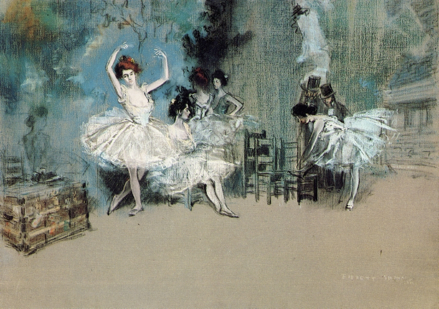 Everett Shinn - Ballet Dancers