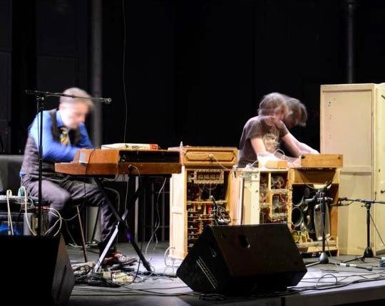 Ployboy en concert Val Macé et David Chazam agités