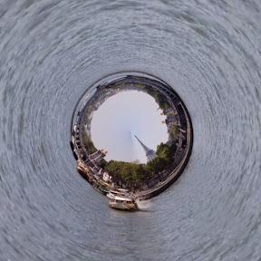 Paris, con TinyPlanet, fotos