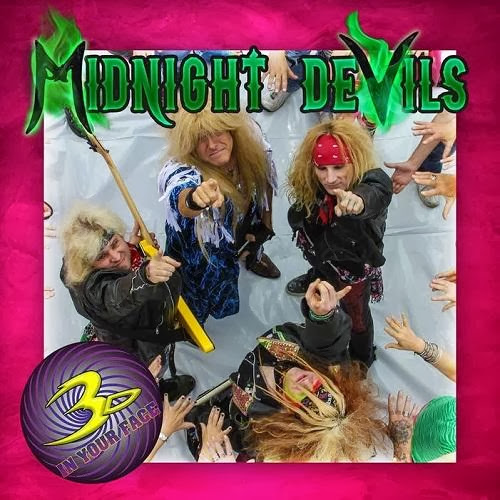3d in Your Face   Midnight Devils (2013) | músicas
