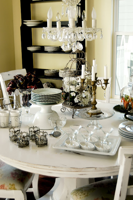 Howt o set a beautiful buffet table- The Style Sisters