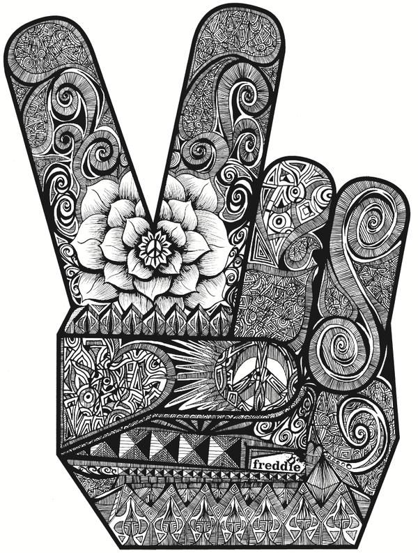Peace Cartoon Drawings Cartoon Peace...300 x 599