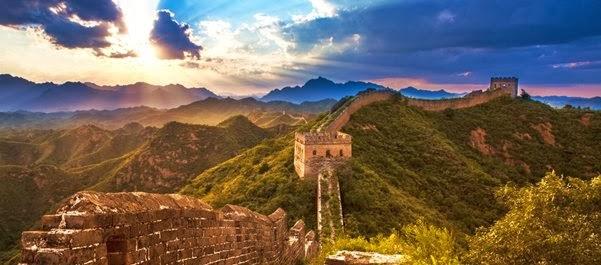 Férias na China