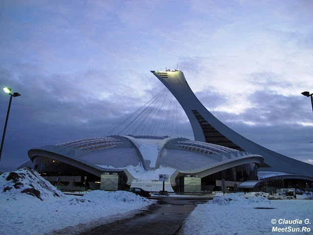 Parcul Olimpic. Biodome. Montreal Tower.