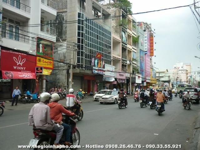 Bán nhà mặt tiền Hai Bà Trưng ,Quận 1 giá 37 tỷ   NT135