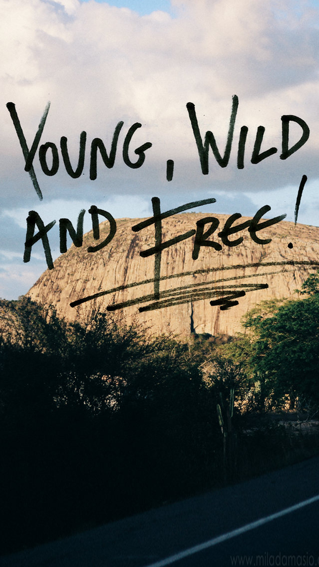 Goodies Wallpaper Young Wild And Free Agência Doisf