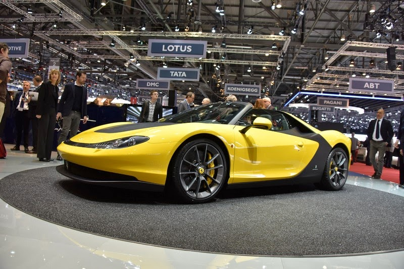 Geneva 2015 Pininfarina Shows Yellow Ferrari Sergio Wvideo