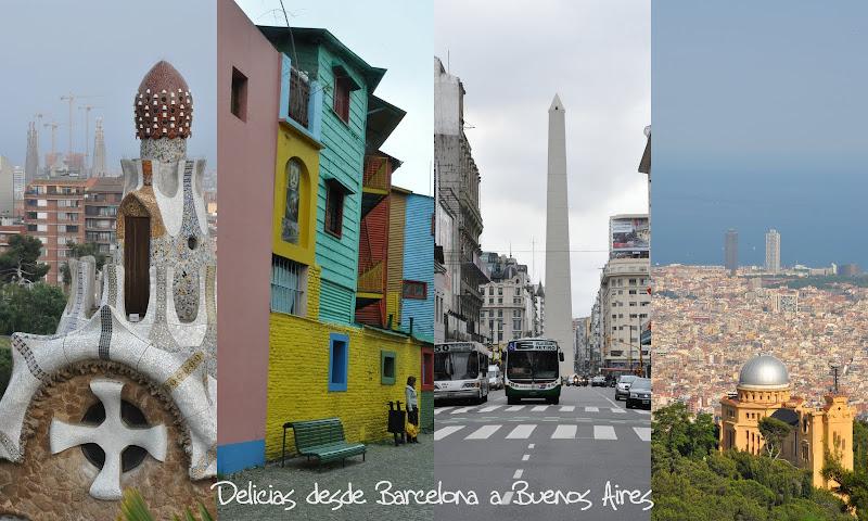 Delicias desde Barcelona a Buenos Aires