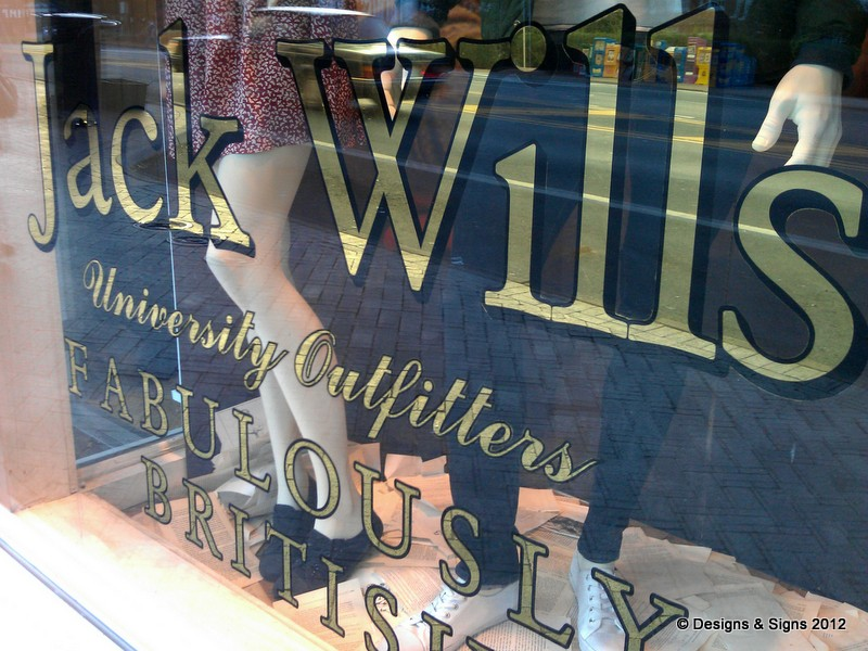 glass gilding - jack wills