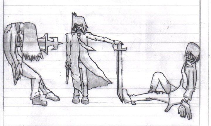 Algunos dibujos creados por mi a lapiz