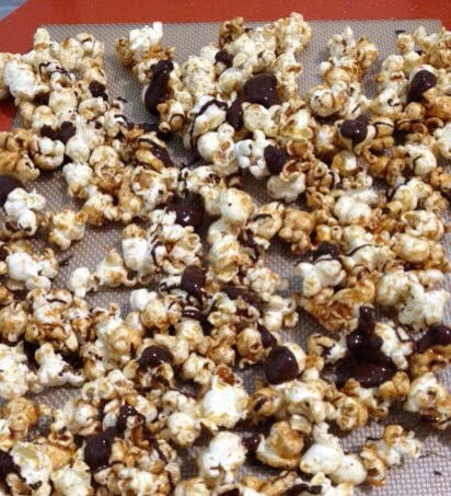 Lia's Food Journey: Butter Toffee Popcorn
