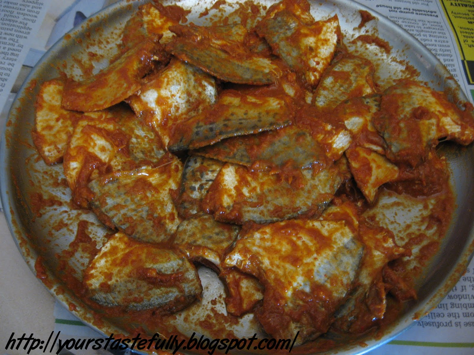 Yours tastefully onnakka mullan varuthathe dry fish fry for Cliffords fish fry