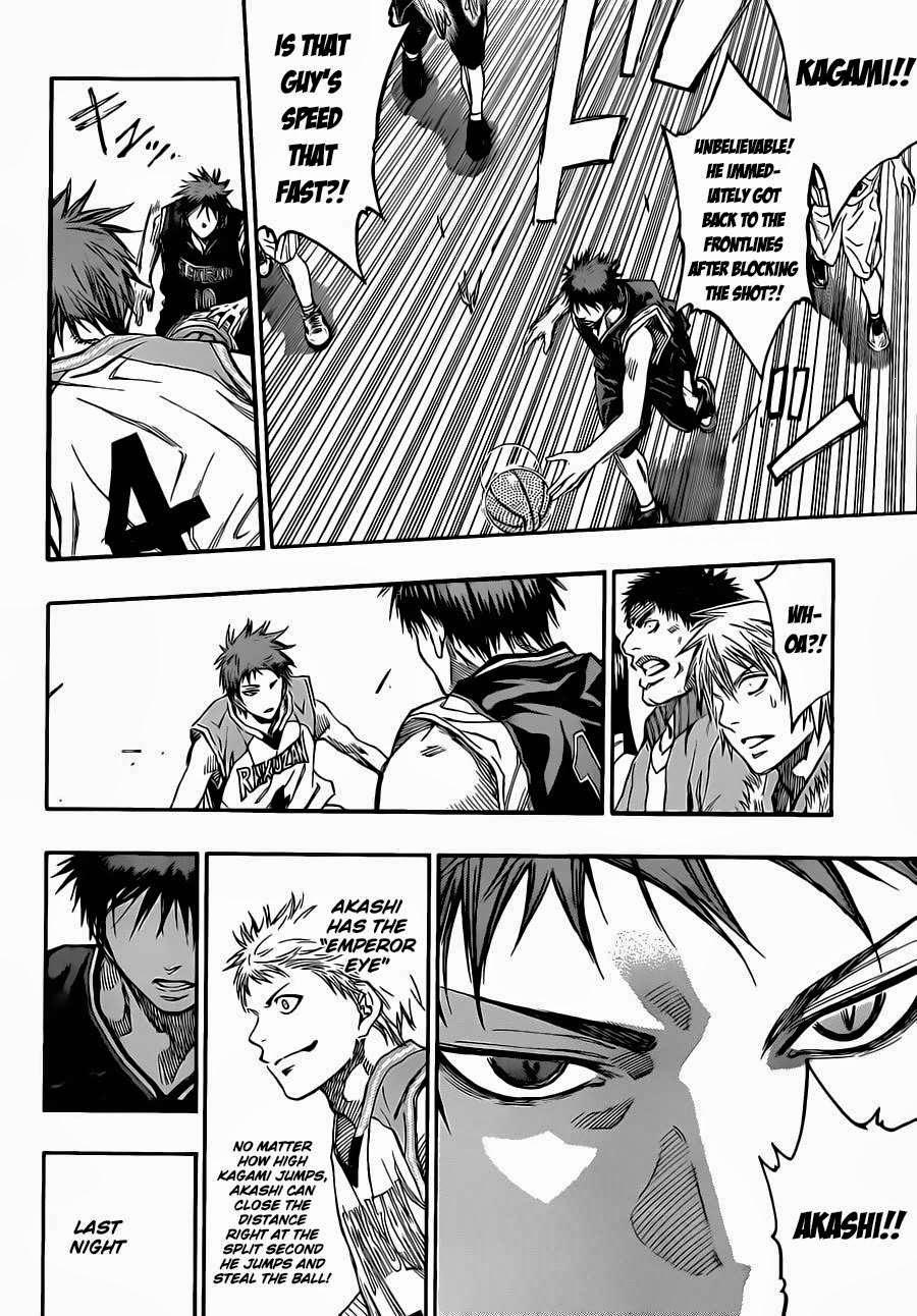 Kuroko no Basket Manga Chapter 232 - Image 14