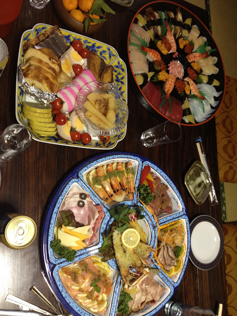 New Year's food at the Sugimotos'