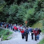 875 Jahre - Gemeinsame Nachtwallfahrt St. Georgenberg - 13.09.2013