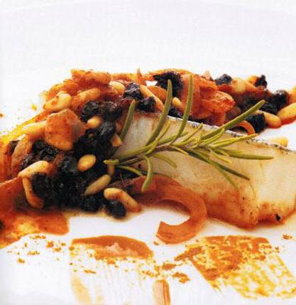 El Racó del Berguedà: Bacallà amb panses i pinyons
