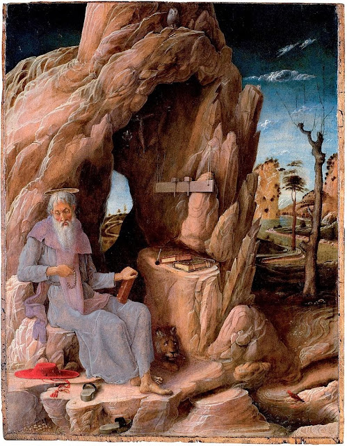 Andrea Mantegna - St. Jerome in the Wilderness