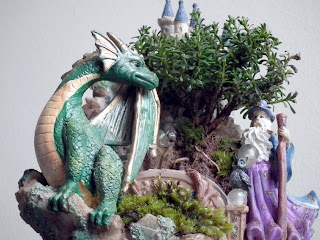 Green craft - Merlin and the green dragon