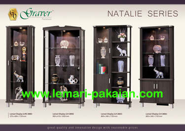 Lemari Display Natalie