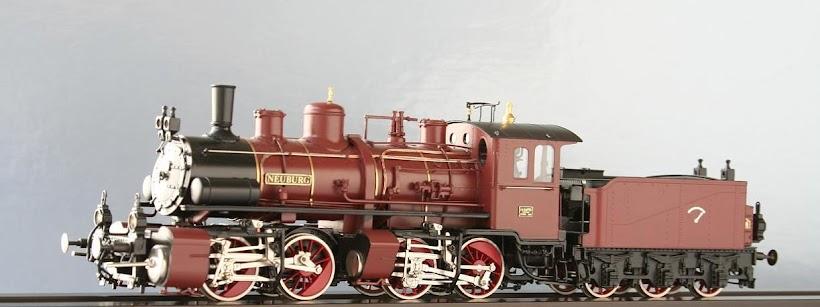 Modeli parnih lokomotiva DRG 94103H-Lv