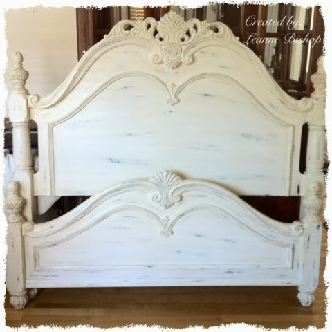 luvlee scrappin completed shabby chic bed. Black Bedroom Furniture Sets. Home Design Ideas