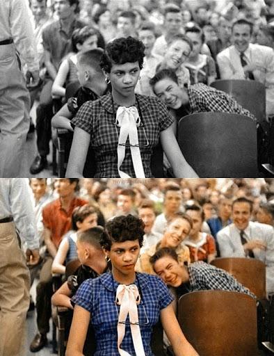 Дороти Каунтс - Най-известните исторически черно-бели фотографии в цвят
