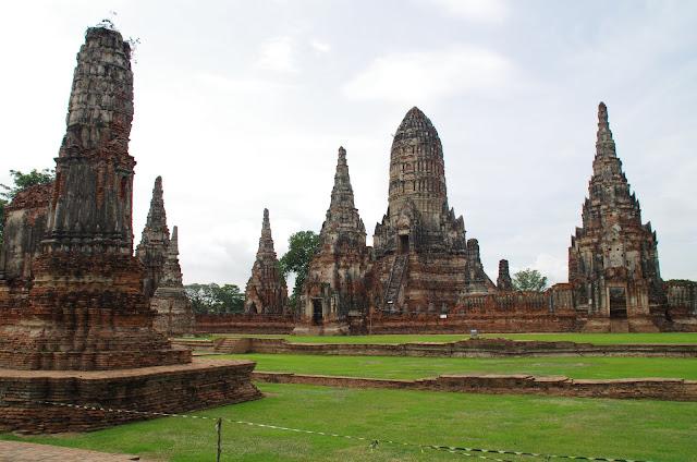 Blog de voyage-en-famille : Voyages en famille, Ayutthaya - Kanchanaburi