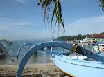 Padangbai: plage
