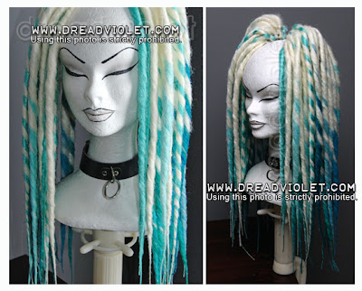 how to make dread falls with synthetic hair