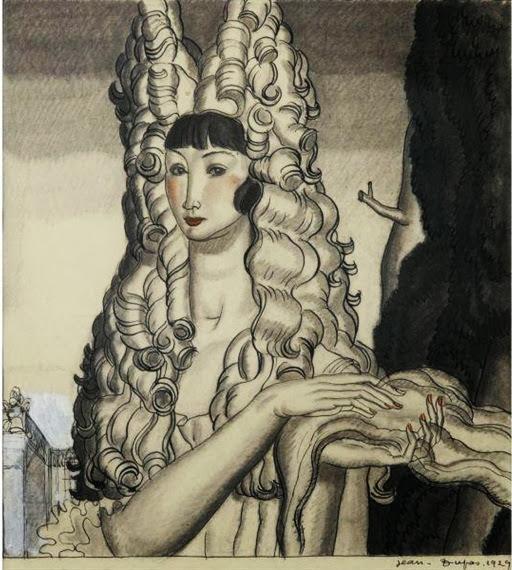 Jean Dupas - Femme à la coiffe, 1929
