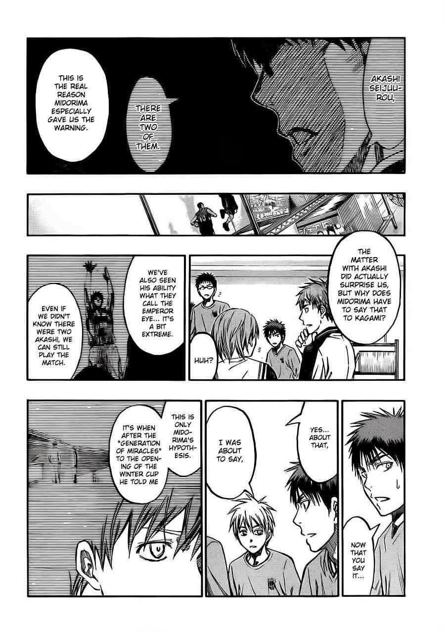 Kuroko no Basket Manga Chapter 228 - Image 10