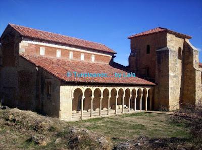 monasterio san miguel escalada, leon