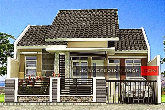 desain model rumah gallery taman minimalis