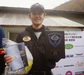 5位 唐澤敬寛プロ 表彰2