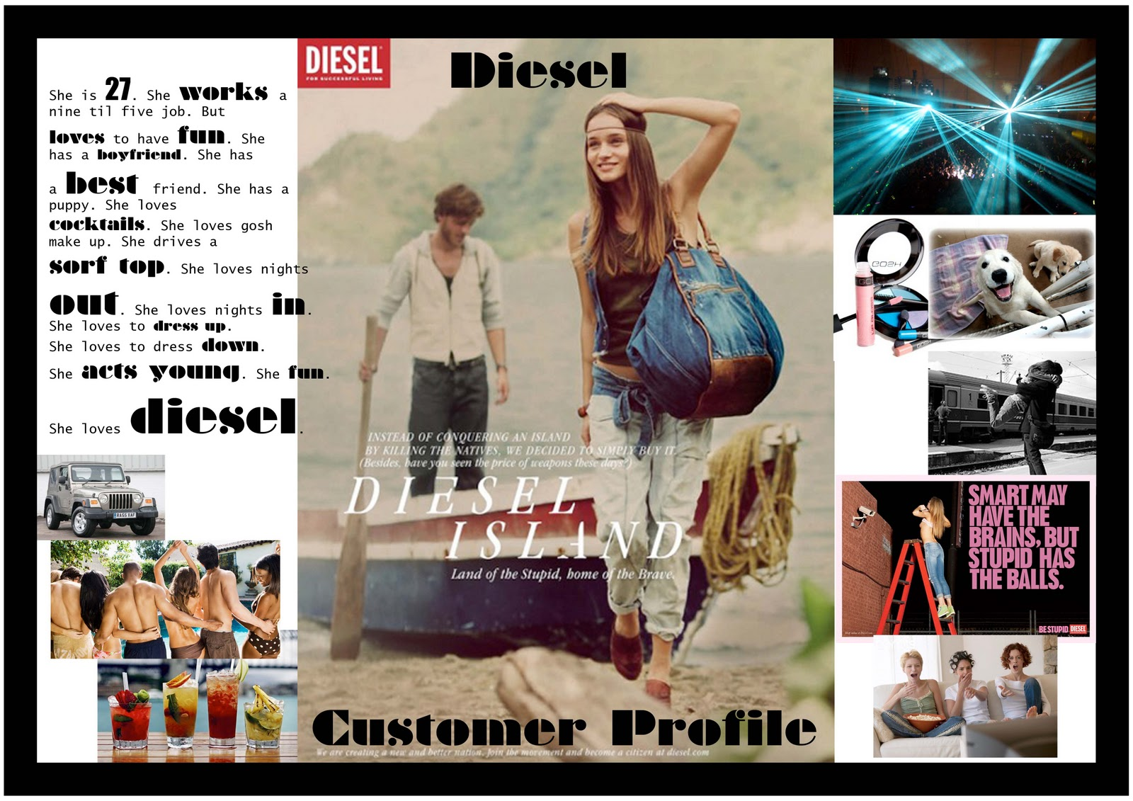 Miss Lauren: DIESEL CUSTOMER PROFILE