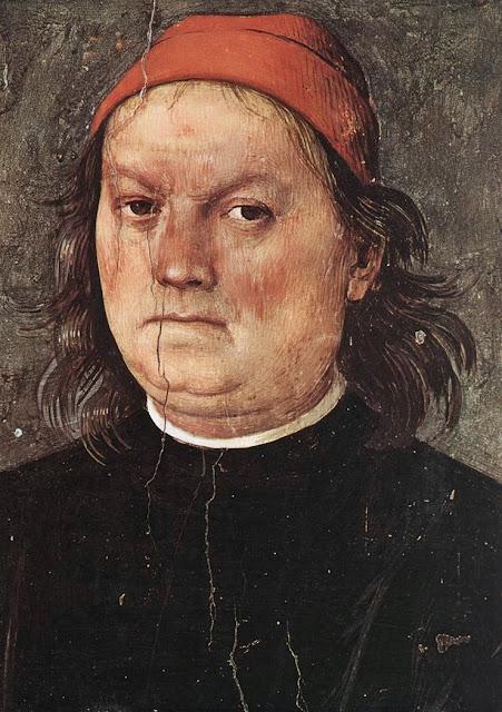 Pietro Perugino - Self-Portrait