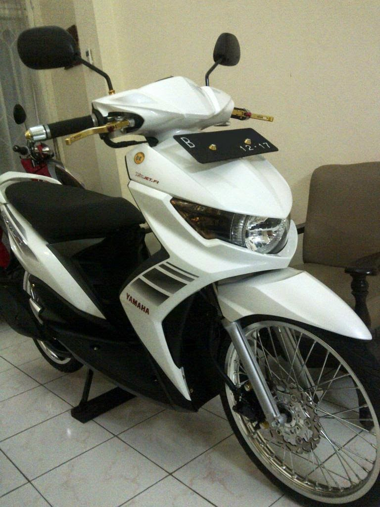 modifikasi standar mio sporty