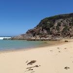 Hidden beach at Wallagot Gap (104566)