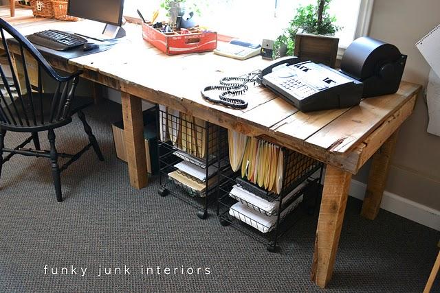 como hacer muebles con palets