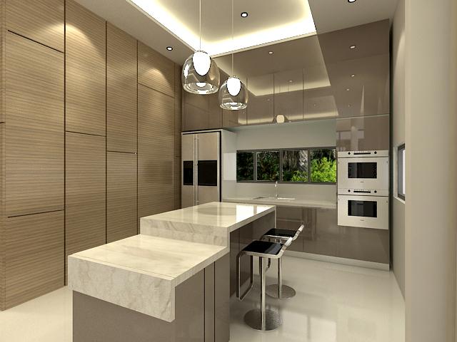 Jhb atelier bungalow interior design johor bahru for Door design johor bahru