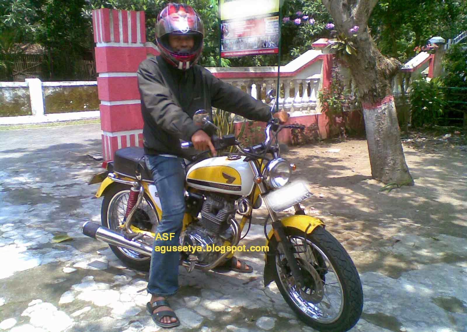 89 Modifikasi Motor Trail Gl 100 Terupdate Oneng Motomania