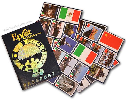 passporteepcot5 - Epcot Center - Viajando | 11 países em um unico dia