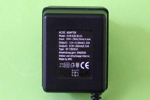 ADAPTADOR ALIMENTADOR AC/DC Mod. 3140