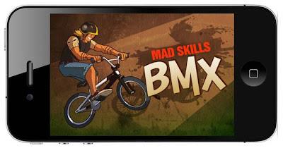 Mad Skills BMX, locas carreras de BMX en tu dispositivo iOS