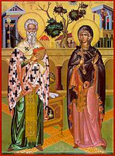 Cyprian The Holy Martyr Justina The Virgin Martyr Of Nicomedea